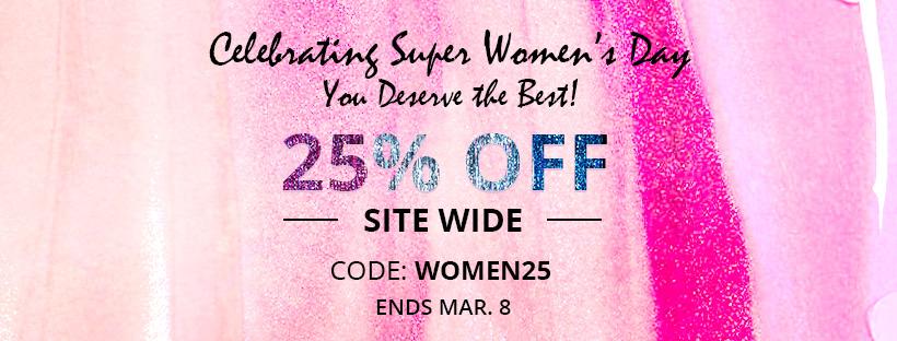 women's day sale 2018