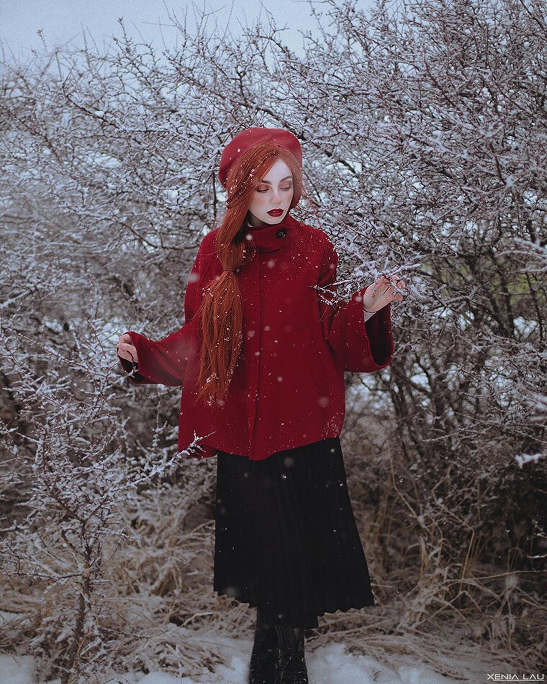 red orange wigs